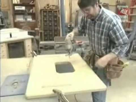 SNW44- Build your own FEATURE LOADED router lift- also works as a mini router table! - YouTube ...