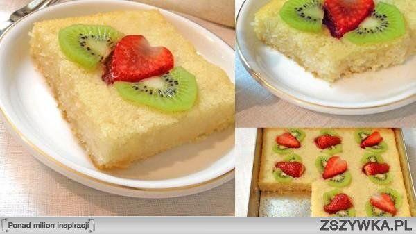 Wegańskie ciasto z kaszy manny