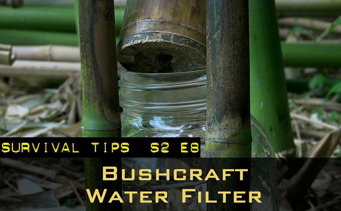 Simple Bushcraft Water Filter