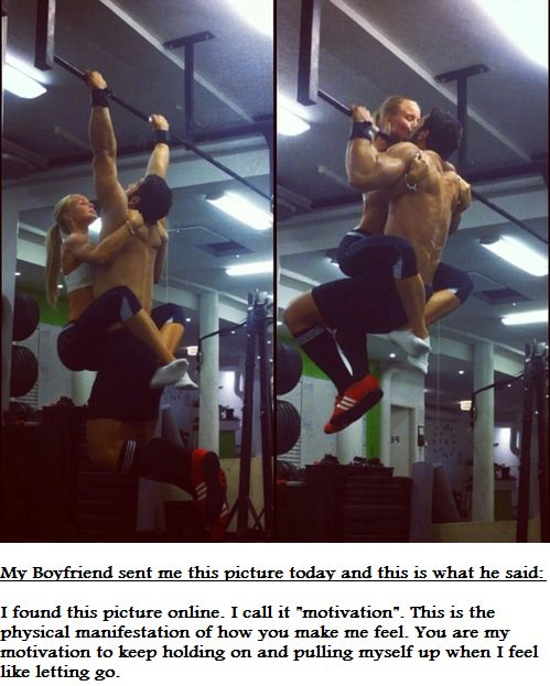 We're doing this when I get strong bough to pull both of us up