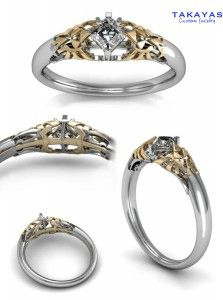 143 best Wedding Rings images on Pinterest Rings Jewelry and