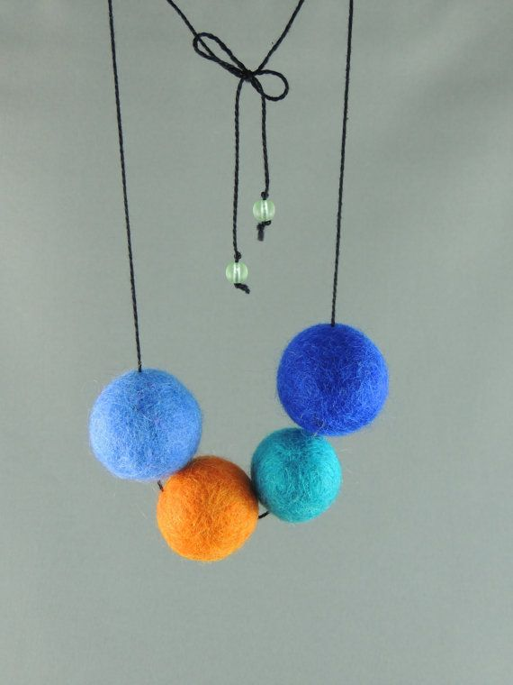 Hey, I found this really awesome Etsy listing at https://www.etsy.com/listing/177523160/bright-coloured-blues-and-orange-felt