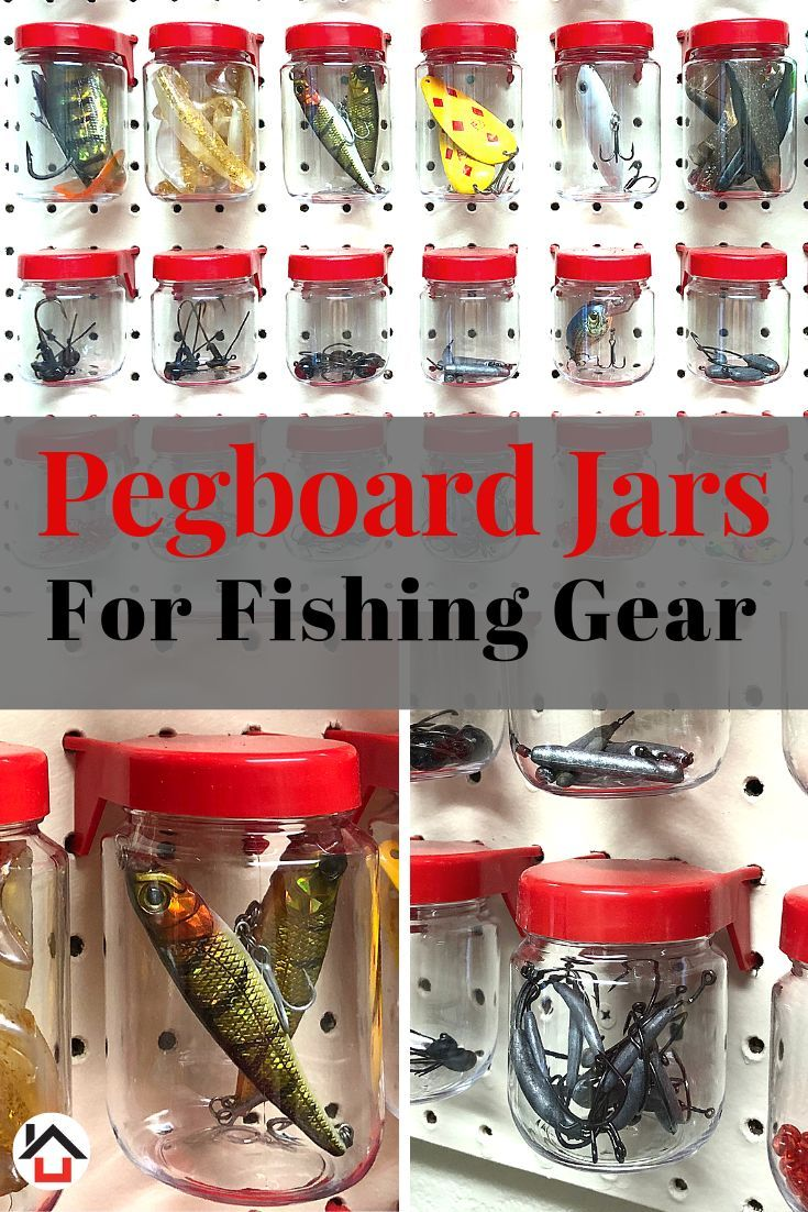 Tall Pegboard Accessories Organizer Storage Jars Large Size 2 X 4 Peg Board Attachments For Craft Sewing Garage Storage Set Of 6 Red Pegboard Accessories Peg Board Pegboard Craft Room
