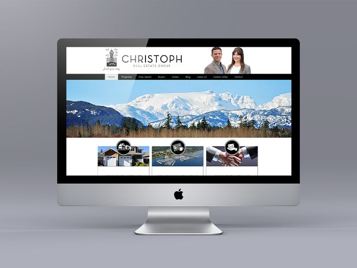 New website for Comox Valley Realtors Jakob Christoph and Jasmen McLellan. Using their unique logo we tied together all of the elements to create a cool black and white look. Uses the Ubertor CMS.