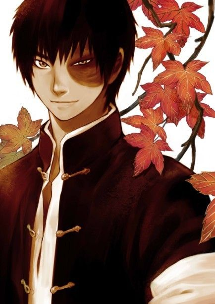 Zuko. He makes fall look so good.- im sorry he may be animated but i had a huge crush on him... Still do