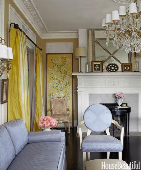 Unique Wallpaper Decorating Ideas - Wallpaper Decor Ideas - House Beautiful