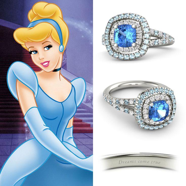 Disney Princess engagement rings: Cinderella