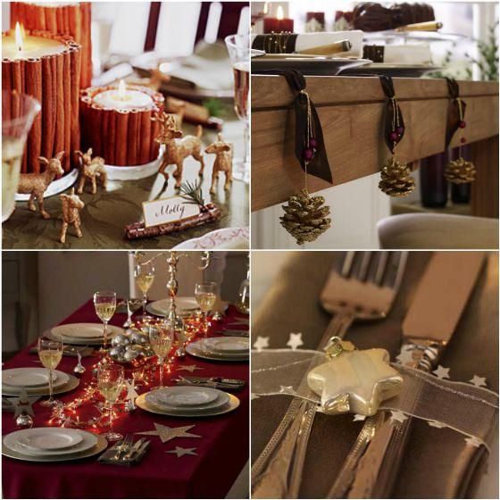 68 best Ceia de Natal images on Pinterest Christmas decor - deko für küchenwände