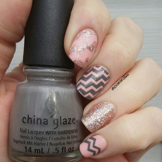 Best 25+ Zig Zag Nails Ideas On Pinterest