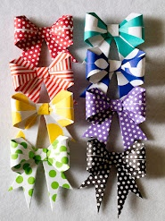 pretty ribbons from pretty paper