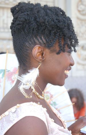Black Natural Hairstyles For A Wedding : 63 best natural hair images on pinterest