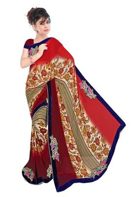 Printed Saree Bollywood Sarees Online on Shimply.com