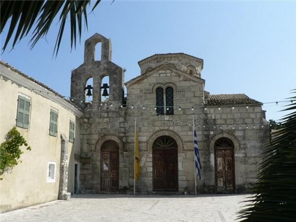 The Byzantine Church of St. Jason and St. Sosipatros in Corfu