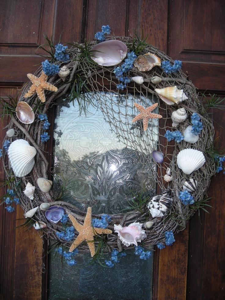beach wreath.....love this!!!