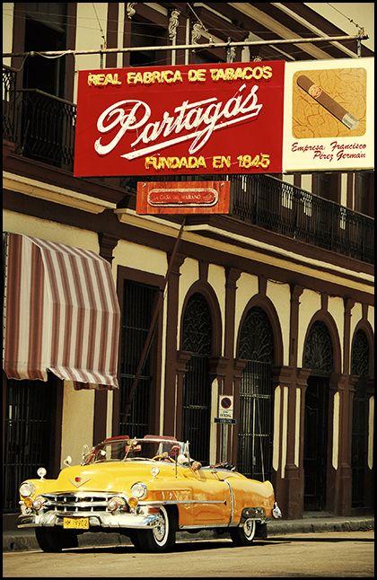 Fábrica de tabaco Partagás. La Habana. Cuba.