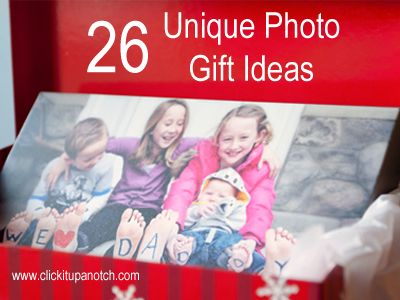 unique photo gift ideas; they have some really cool ones on here!