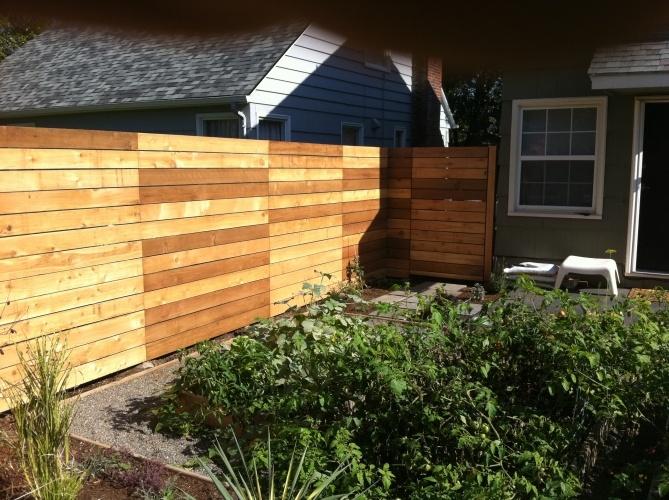 Nice Horizontal Fence Cedar Fence Horizontal Fence Fence