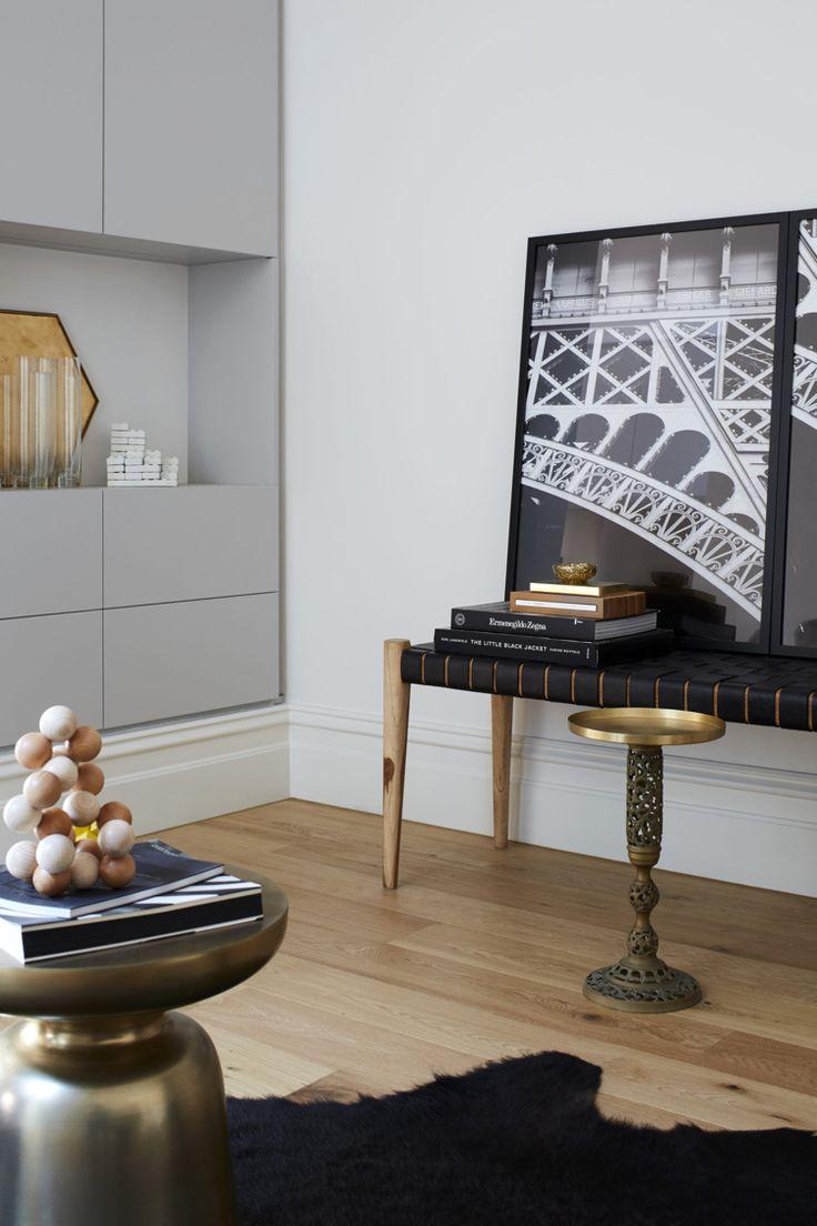 Dekoration Aus Metall Wohntrend Messing Akzente Wohnzimmer Schwarz Weiss  Minimalistisch #interior #design