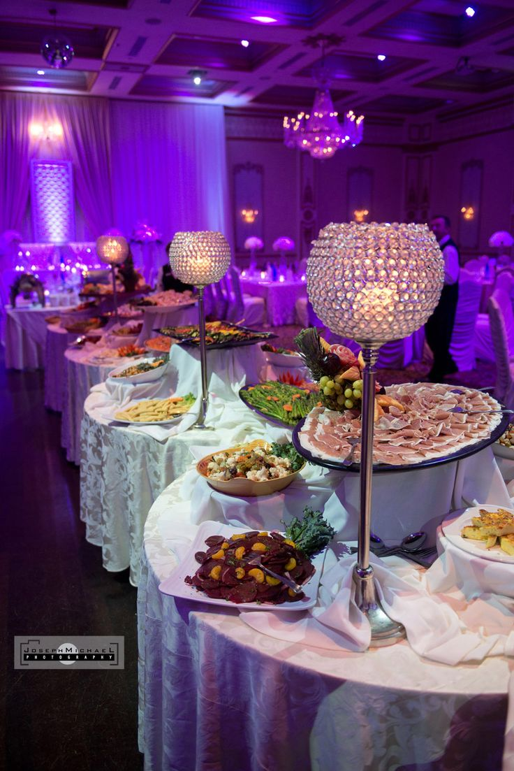 Venetian Banquet Hall Wedding Photography Toronto Buffet