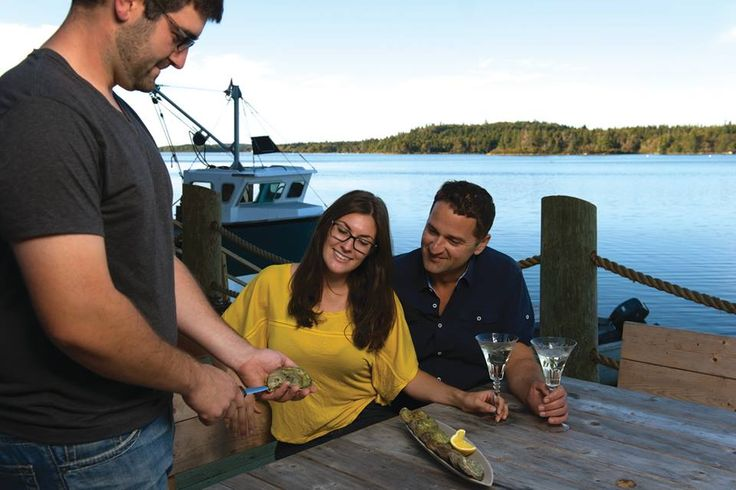 Eel Lake Oyster Farm:  You will tour a working oyster farm and board an authentic fishing boat to learn how the ''Ruisseau'' oyster is grow. Back at the dock, learn to shuck an oyster and taste this local delicacy.