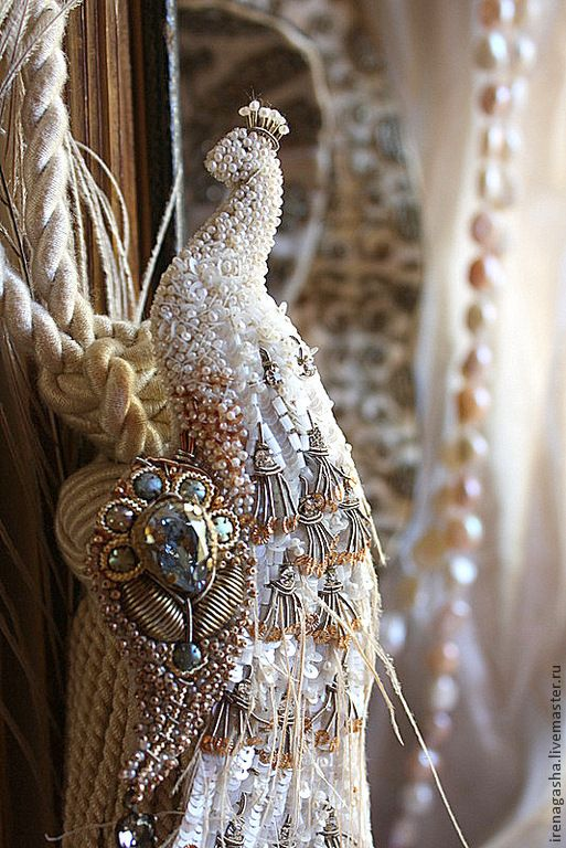 Beautiful embroidered jewelry