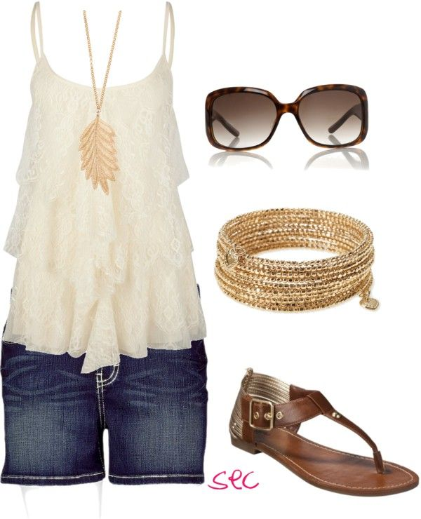 """""""Summer gold"""" by coombsie24 ❤ liked on Polyvore"""