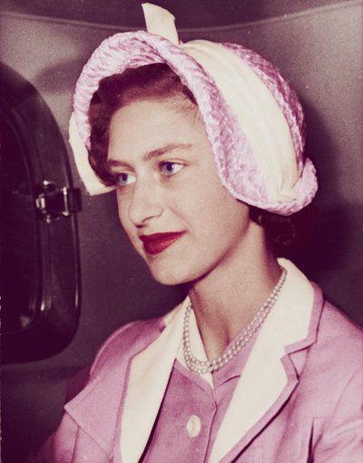 """margaretofsnowdon: """" Princess Margaret in Pink """""""