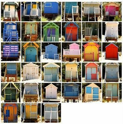 Beach huts at Wells-next-the-Sea on the Norfolk coast  via colorandsound.blogspot.com by anita