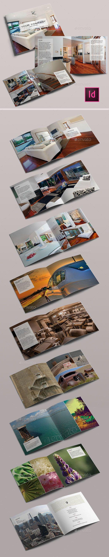 Minimal Clean Catalog InDesign Template V3 (CS4, 7.5x7.5, booklet, brochure, catalog, clean, design, easy, editable, elegance, elegant, hotel, indesign, interior, interior design, layout, minimal, minimalist, modern, portfolio, print, real estate, spa, square, template, wellness)