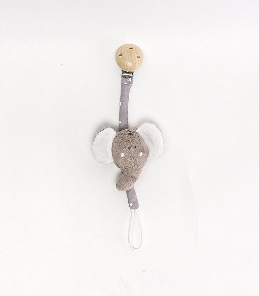 Sloní - hračka na dudlík (řetízek) http://muzpony.cz/produkt,291,2012-slon%C3%AD_hra%C4%8Dka_na_dudl%C3%ADk_%C5%99et%C3%ADzek_.html