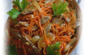 Корейское блюдо «Хе» из мяса