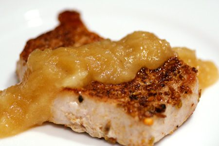 Pork Chops And Applesauce Recipes — Dishmaps