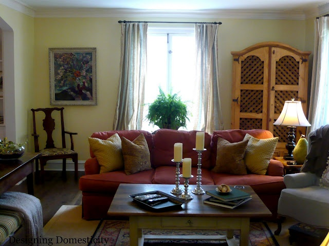 Liking The Red And Yellow Livingroom Ideas Pinterest Armoires Living Rooms And Cosy