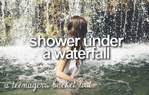*sower under a waterfall*
