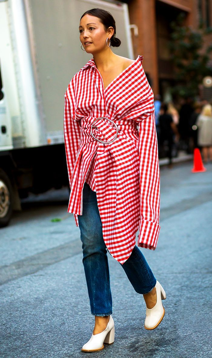 How street style stars are wearing dresses with pants, plus how to get the look for yourself.