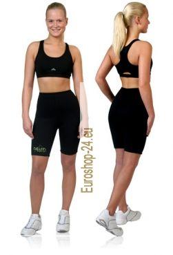 Fitness-Shorts aus Neopren mit Biokeramik   Wärme-Effekt im Bauch-, Po- und Oberschenkelbereich  Vermehrter Schwitzeffekt bei Sportaktivitäten  Shorts können nach Auftragen von Cellulite-Cremes angezogen werden