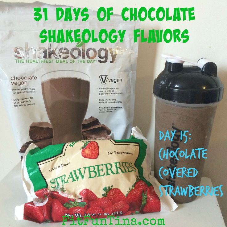 For the month of August, I decided to challenge myself to make 31 Different Chocolate Shakeology Flavors to show it's versatility! Let the yum begin!