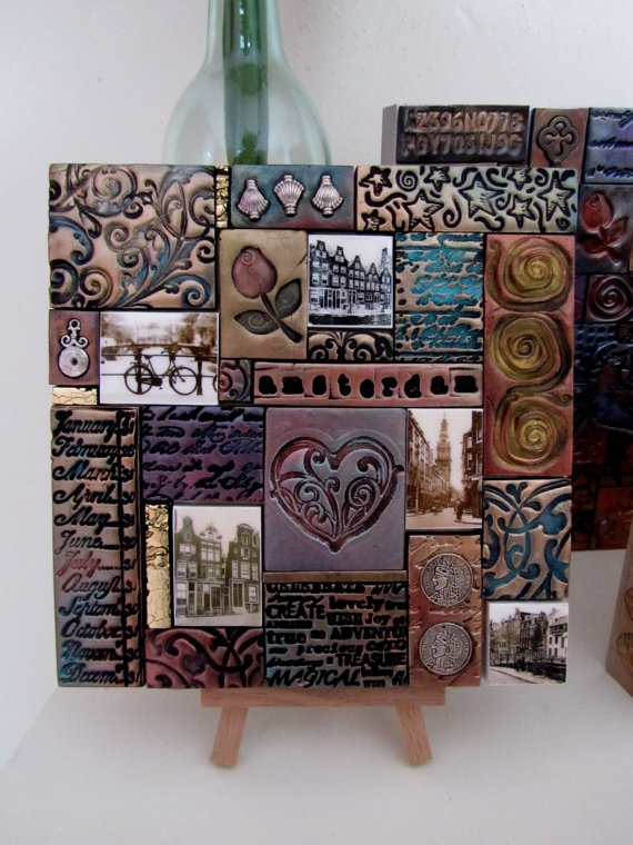 . . . lots of details, designs, colour ideas . How about a .biography tile of someone special. Use imprinted photos. .