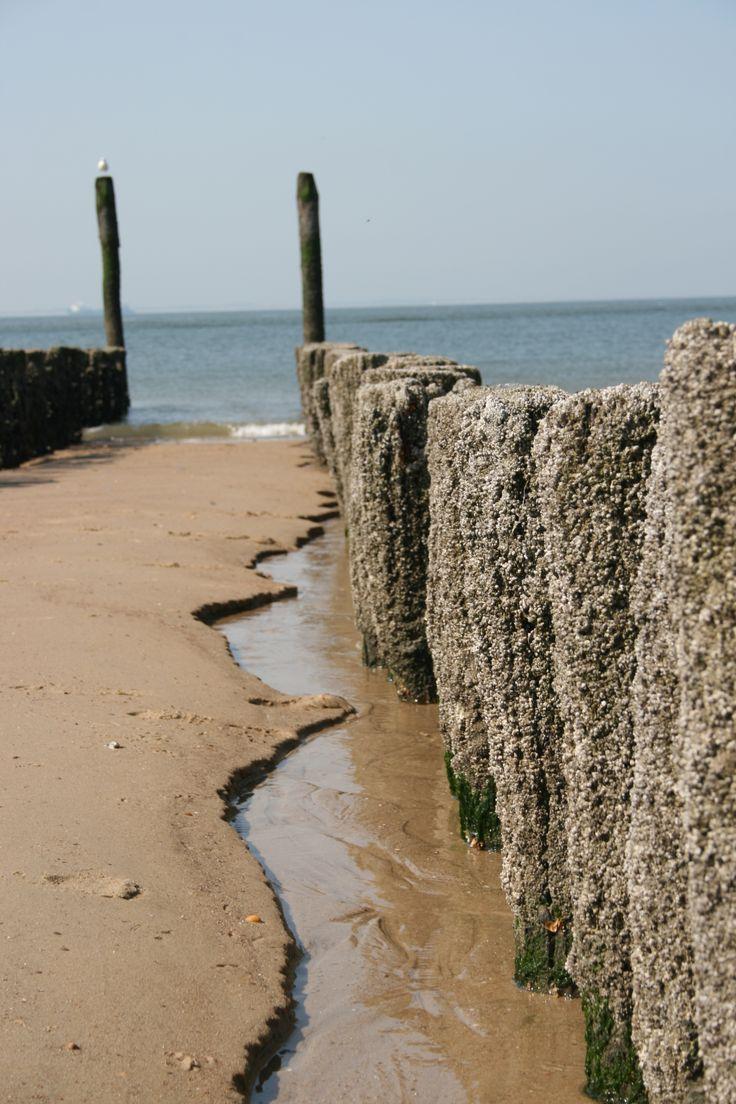 Het strand is een kunstwerk