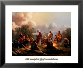 Jesus Spreading the Word Prints by Myung Bo - by AllPosters.ie