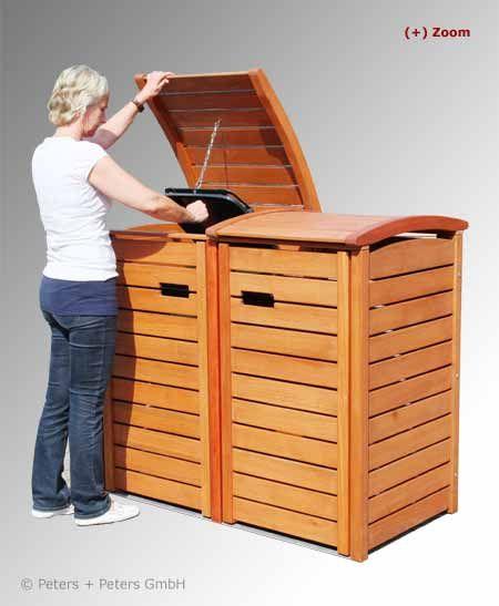 ber ideen zu m llboxen auf pinterest m lltonnenbox gartenhaus und m lltonnenverkleidung. Black Bedroom Furniture Sets. Home Design Ideas