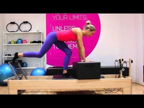 Try This Reformer Exercise That Will Target To Tone Your Glutes – YouTube – #Exe