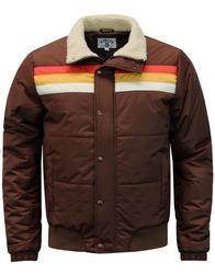 Edge MADCAP ENGLAND Retro 1970s Stripe Ski Jacket: https://www.atomretro.com/product_info.cfm?product_id=26822&d=madcap-england-edge-retro-chest-stripe-ski-jacket #madcapengland #skijacket #ski #jacket #jacket #atomretro #1970s #70s #retro #mensfashion #mensstyle