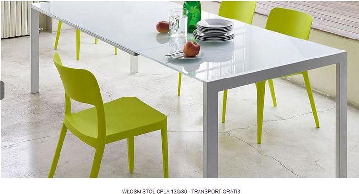 wloski stol OPLA 130x80 - rozkladany