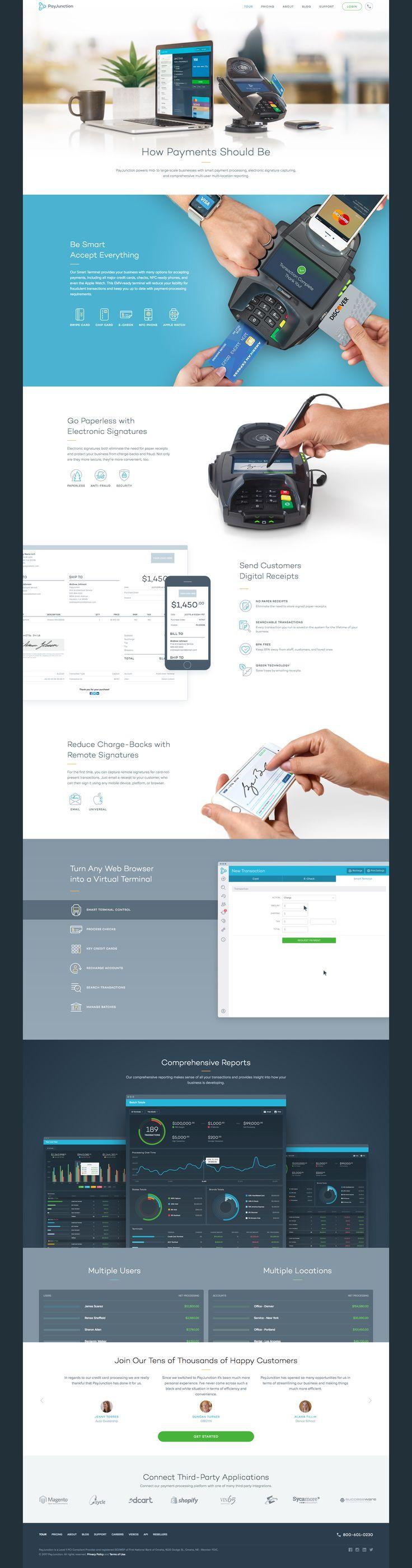PayJunction Website Design