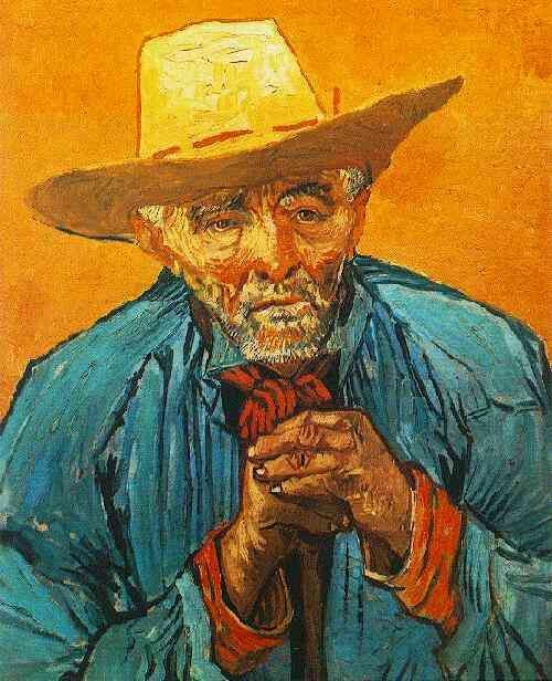 Friends of Vincent (@VanGoghADay) | Twitter  Portrait of Patience Escalier August, 1888 Oil on canvas Collection Niarchos