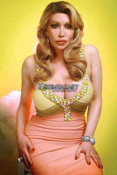 Travesti Allanah Starr  Transwomen  Tight Dresses -9929