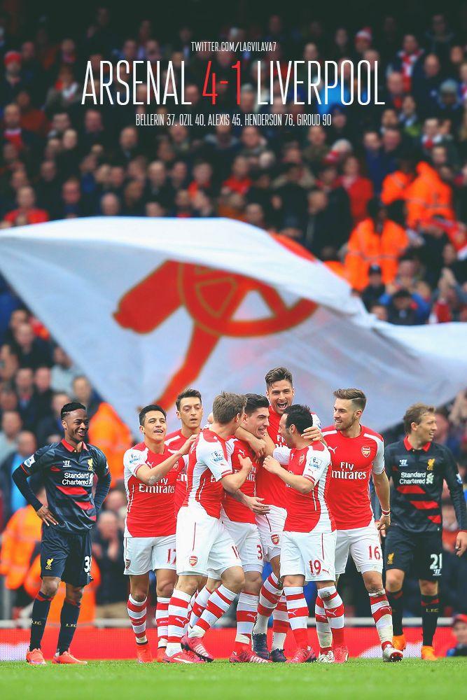 Arsenal 4-1 Liverpool #AFCvLFC