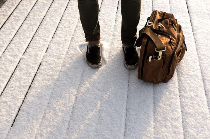 Fed slidstærk Carhartt taske til arbejde og fritid!
