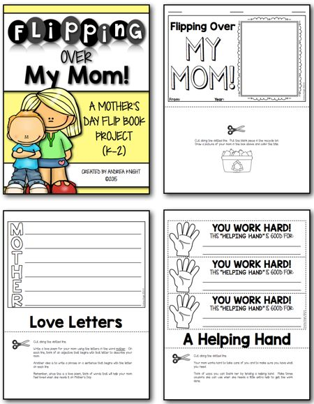 mothers day flip book - 450×579